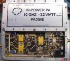 3cm High Power PA 32 Watt >45dBm out 10mW in