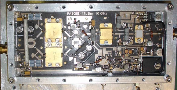 3 CM / 10 Ghz PA' s